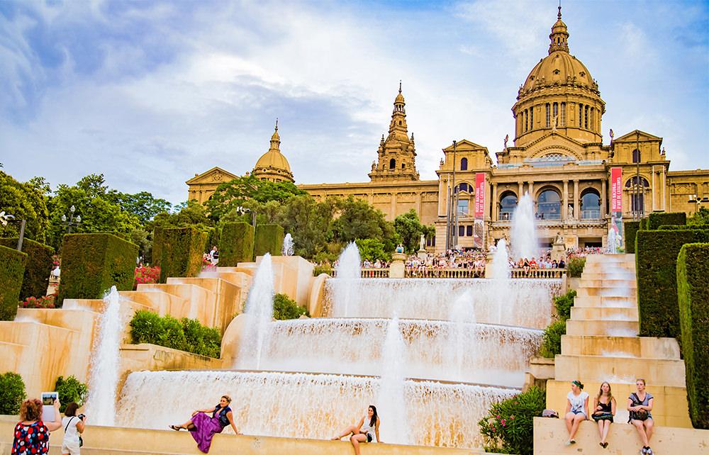 Barcelona Ausflug - Fuentes / Wasserspiele