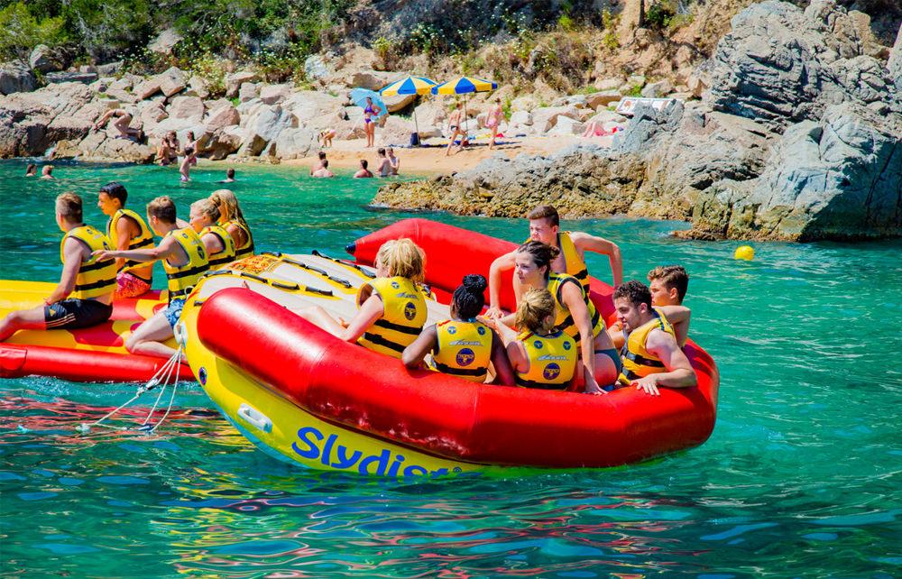Beachparty Ausflug - Sly Dist