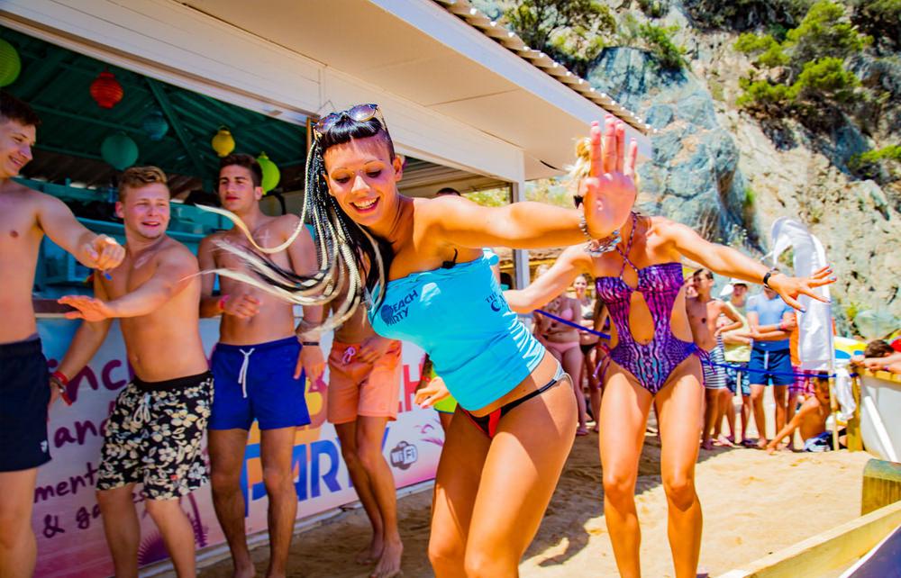 Beachparty Ausflug - Spiel / Tanzen