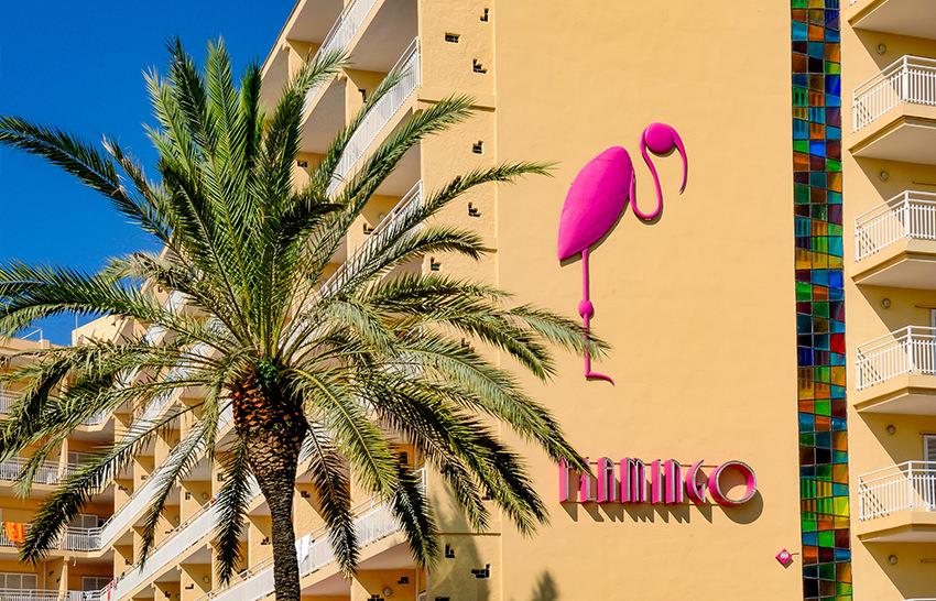 Hotel Flamingo - Lloret de Mar - Aussenansicht
