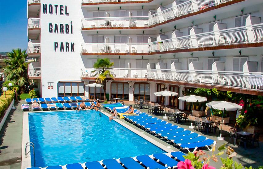 Hotel Garbi Park - Lloret de Mar - Poolansicht
