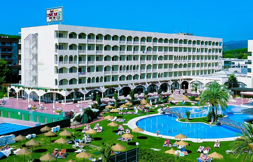 Hotel Olymic Park - Lloret de Mar - Anlage