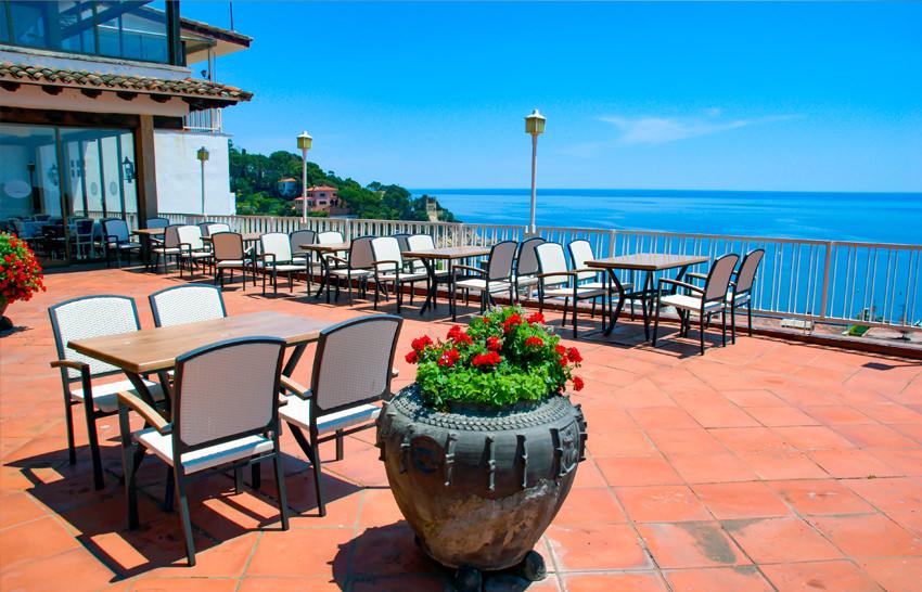 Hotel Roger de Flor Palace - Lloret de Mar - Dachterrasse