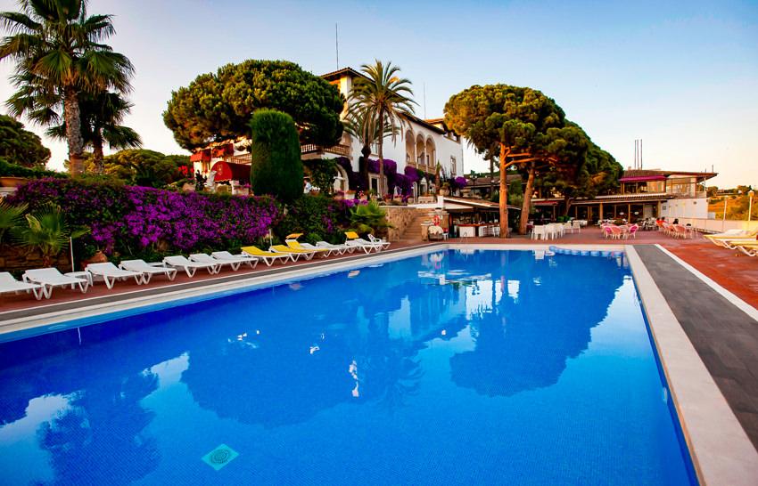 Hotel Roger de Flor Palace - Lloret de Mar - Poolanlage