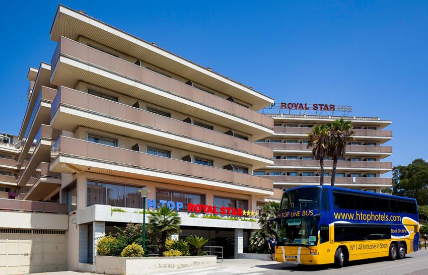 Hotel Royal Star - Lloret de Mar - Aussenansicht