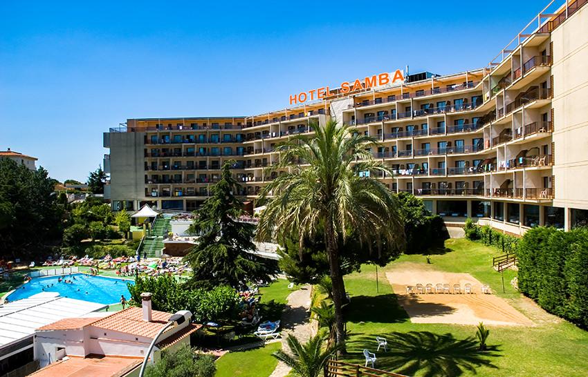 Hotel Samba - Lloret de Mar - Poolblick