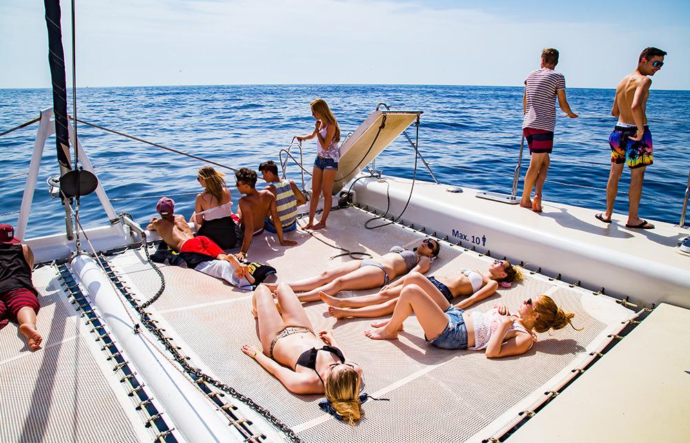 Katamran Cruise - Ausflug - Entspannen Netz