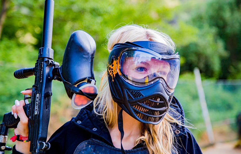Paintball Ausflug - Lloret - Mädchen / Brustschutz