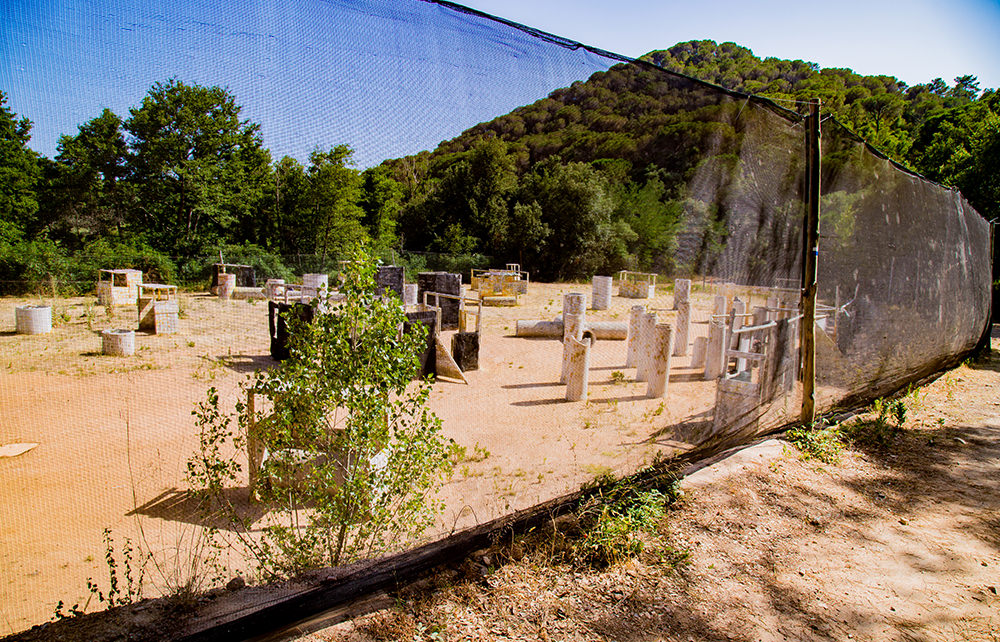 Paintball Ausflug - Lloret - Spielfeld / Capture the Flag