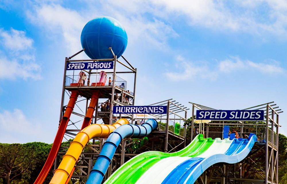 Waterworld Ausflug - Lloret de Mar - Speedrutschen